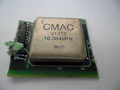 Vintage Cmac V1375 Rf Crystal Oscillator 16.384 Mhz Ham Radio