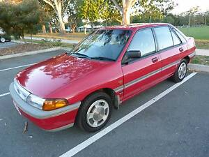 1993 Ford Laser Hatchback EFI Auto Aircon Steer 147k Rego & RWC Redcliffe Redcliffe Area Preview