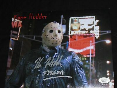 KANE HODDER Signed 810 Photo Friday the 13th JASON VOORHEES