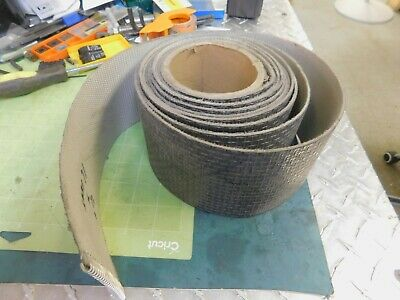 Roll Of Fabric Backed Conveyor Belt 4 Wide X 0.090 Thick X 16 Feet