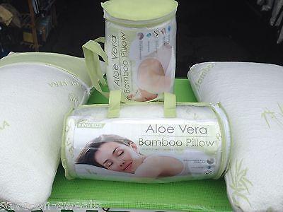 ALOE VERA BAMBOO PILLOW Memory Foam Pillow King or Queen Best Pillow