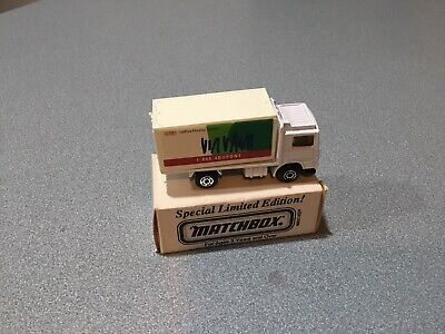 Matchbox Superfast 20d Volvo Container Truck - DUPONT - ASAP Promo - Mint/Boxed