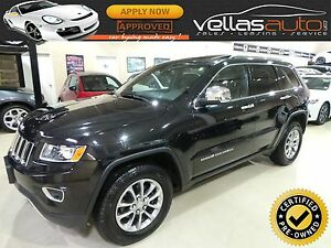 2014 Jeep Grand Cherokee Limited LIMITED  4X4  SUNROOF  LEATH...