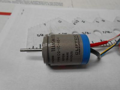 Cg-10hs1 Synchro Transmitter Body Size 10 26v 400hz New Old Stock