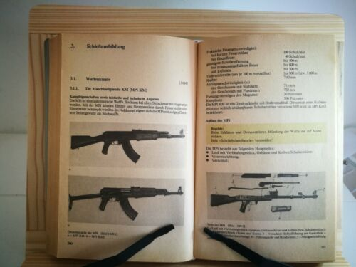 Original DDR GDR Communist East German Army NVA Weapons & Tactics Guide