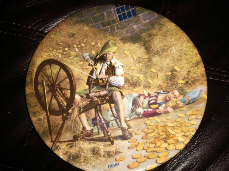 Charles Gehm #2472 Collectible Plate Rumpelstilzchen Rumpelstiltskin German Ed