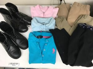 Girls riding boots/clothes