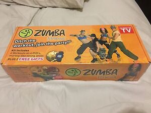 Zumba fitness DVD kit new and sealed  dancing weight loss exercise Berwick Casey Area Preview