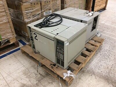 Lot Of 2 Hp Agilent 5890 Series Ii 2 5890a Gas Chromatograph - See Description
