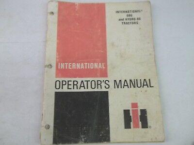International Harvester 686 Hydro 86 Tractors Operators Manual