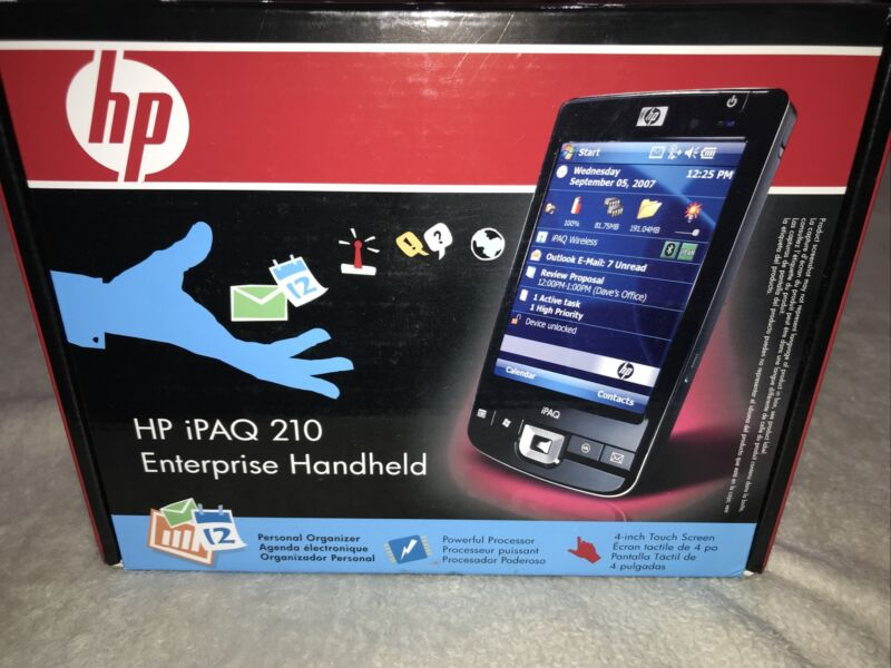 Opened Box HP iPAQ 210 Enterprise Handheld Win 6.0 624MHz (FB040AA#ABA) LOOK!