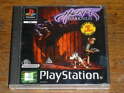 Heart of Darkness for Sony Playstation PS1 for sale  Shipping to Nigeria