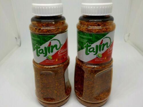 Tajin Clasico Seasoning   1.6 Ounce Bottle     Two-Bottle Pack    Free Shipping
