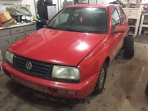 Parting out Jetta
