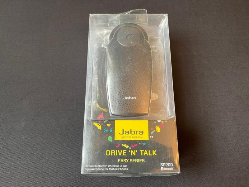 Jabra Drive and Talk - Easy Series SP200 Bluetooth Wireless In Car Speakerphone
