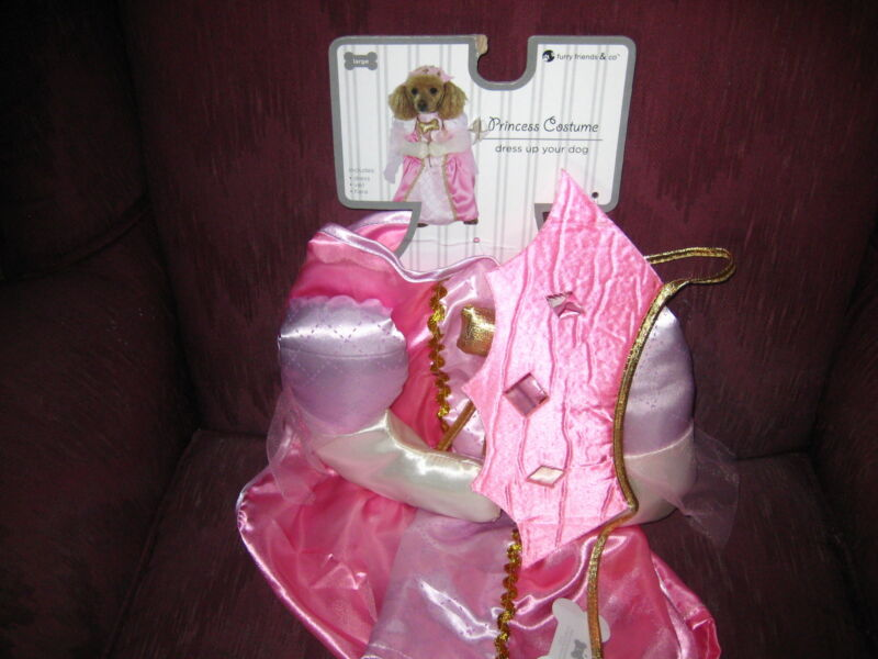 ADORABLE PRINCESS COSTUME FOR YOUR DOG - FROM FURRY FRIENDS & COMPANY