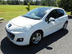 2011 Peugeot 207 XT Automatic Hatchback 73000 Kms Reg 08/19
