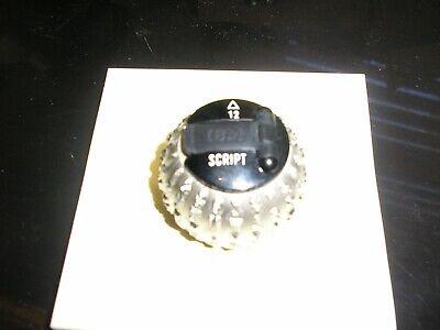 Ibm Selectric I Ii Typewriter Element Script 12 See Print Below