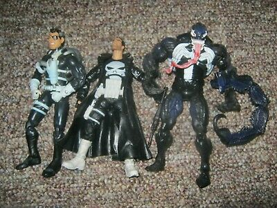 Marvel Legends Punisher Nick Fury Venom Spider-Man Classics Scorpion Tail