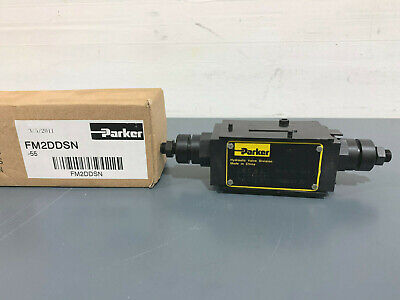 New Parker Fm2ddsn Hydraulic Flow Control Valve
