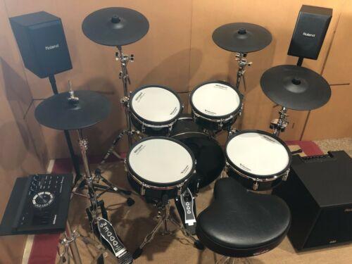 Perfect Roland VAD306 Electronic Drum Set CM-220 2.1 speaker system TD17 module