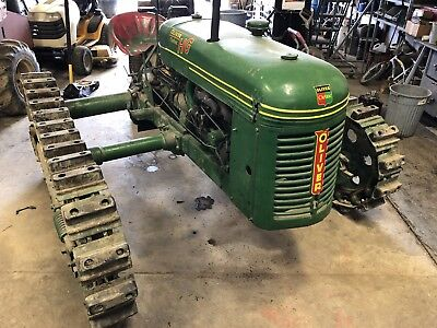 Oliver HG Cletrac Crawler Tractor