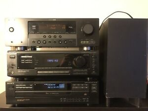 Home theatre receivers, sub buffer