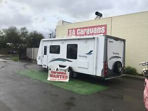 $$$ CASH PAID FOR CARAVANS , MOTOR HOMES & BOATS Klemzig Port Adelaide Area Preview