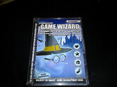 Harry Potter and the Philosophers Stone Playstation Game Wizard Cheat Master comprar usado  Enviando para Brazil