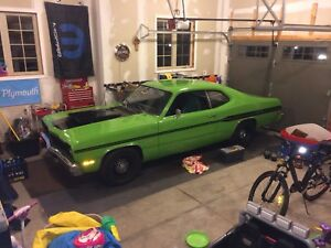 1974 Duster 340 - Trade for late model Challenger