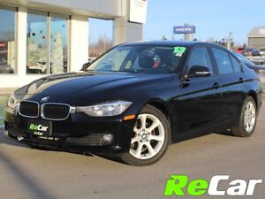 2013 BMW 320i 6-SPEED | HEATED LEATHER | LOADED