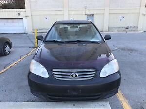 2004 Toyota Corolla power window