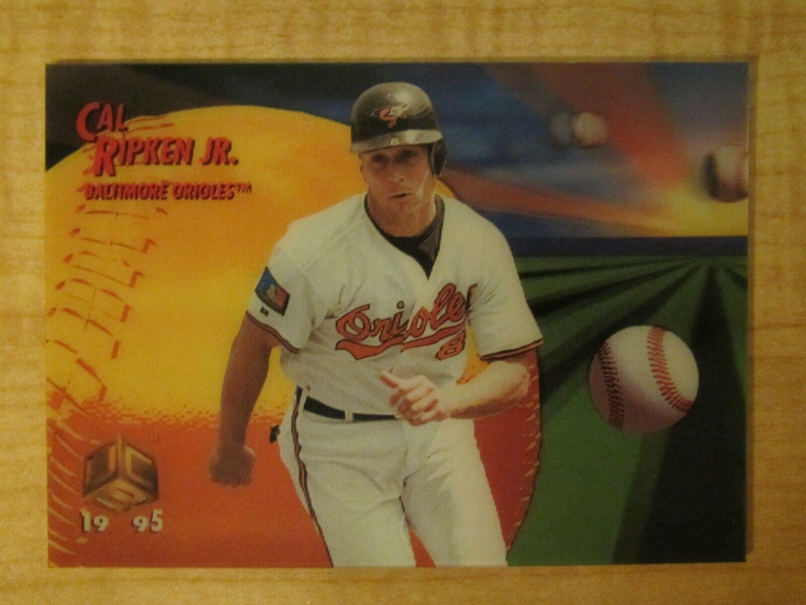 1995 Pinnacle Sportflix UC3 Cal Ripken Jr 75 Baltimore Orioles HOF - $1.99