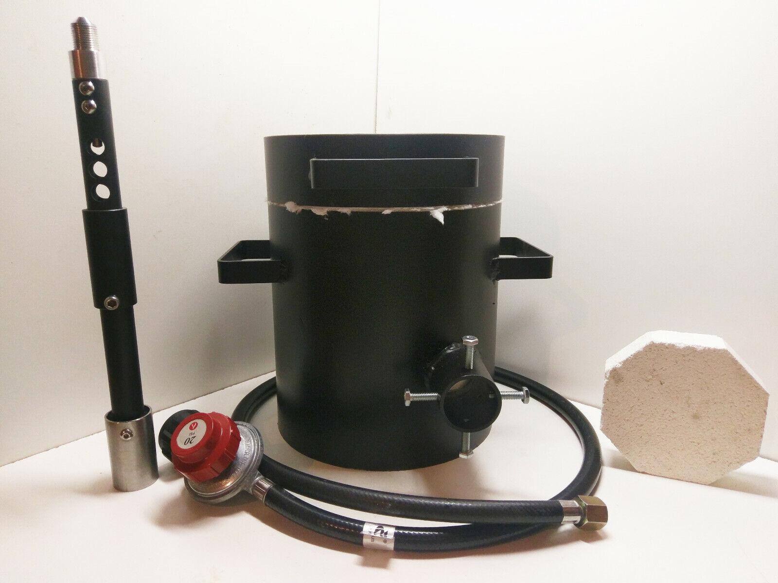 Propane Metal Casting Smelting Furnace/ Forge Kiln 4kg Melti