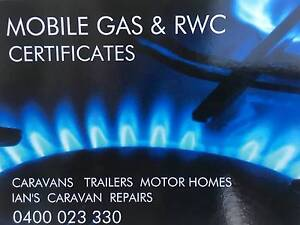 CARAVAN SAFETY RWC & GAS CERTIFICATE Maroochydore Maroochydore Area Preview