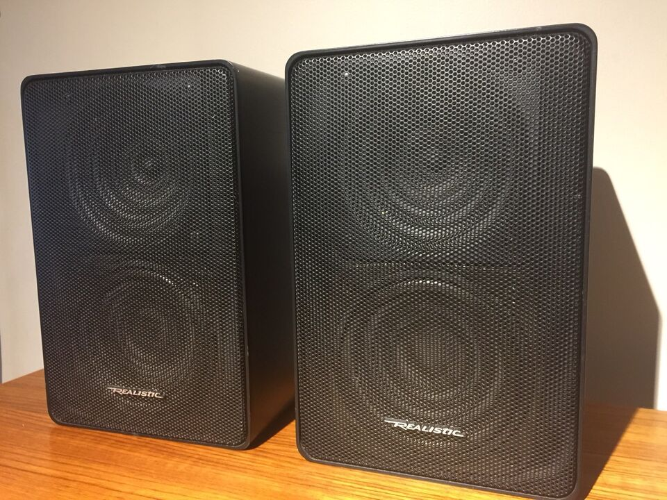 Realistic Minimus 11 Wall Mountable Bookshelf Speakers