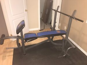 Exercising Bench in perfect condition like a brand new