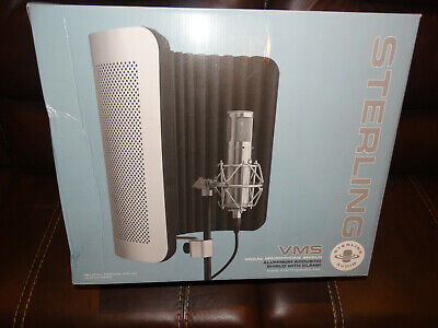 Sterling Audio Vocal Mic Shield, Brand New, NO RESERVE, FREE SHIPPING