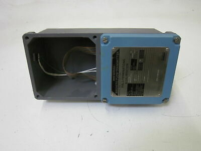 Foxboro 8000-pa10 Magnetic Flow Transmitter Used