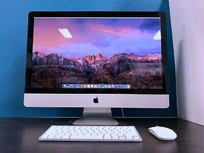 """Apple iMac 27""""   CORE i7 3.4GHZ   2TB HD   16GB RAM   2 YEAR WARRANTY   OS-2017"""