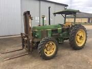 John Deere 1640 Tractor Forklift Walker Flat Mid Murray Preview