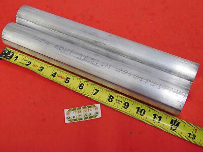 2 Pieces 1-58 Aluminum 6061 Round Rod 12 Long Solid Lathe Bar Stock 1.625