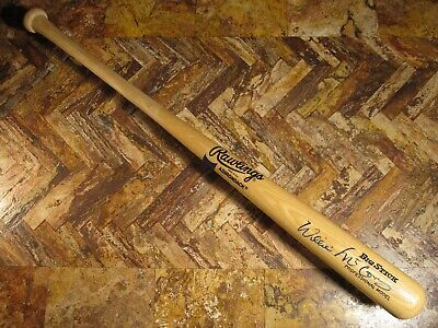 WILLIE MCCOVEY BOLD SIGNED AUTOGRAPHED RAWLINGS BIG STICK PROFESSIONAL BAT PSA Autographed Rawlings Big Stick Bat