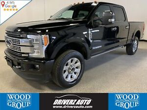 2018 Ford F-350 Platinum CLEAN CARFAX, ONE OWNER, 5TH WHEEL P...