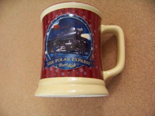 The Polar Express Train Ride Hot Hot Chocolate mug coffee cup Believe Winter
