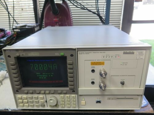 HP 70004A with 70820A Microwave Transition Analyzer DC-40GHz