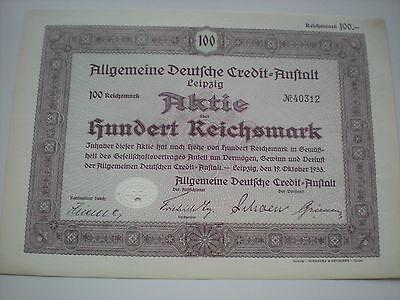 Deutschland - ADAC Allgem.Deutsche Credit Anstalt   1/185