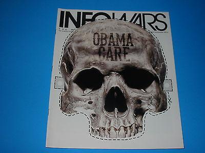 Alex Jones Infowars Magazine Oct October  2013 Vol 2 # 2 Halloween Masks Obama ](Halloween Infowars)