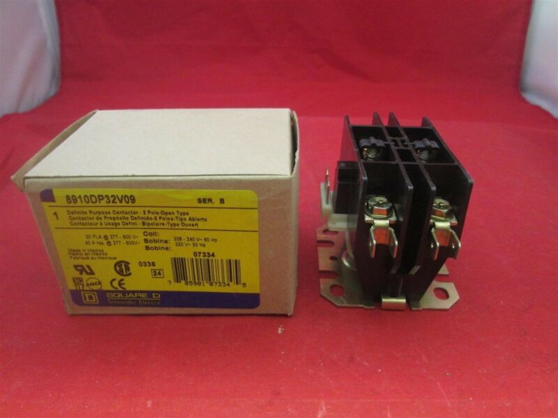 Square D Contactor 8910DP32V09 new