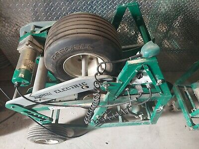 Tested Greenlee 6810 Ultra Feeder Wire Cable Puller De-spooler Tugger Ed4u 8260